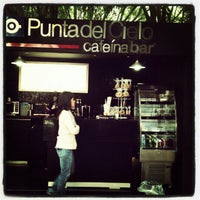 Photo taken at Café Punta del Cielo by Anthony A. on 3/1/2013