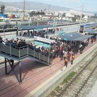 Photo taken at İzban Halkapınar İstasyonu by Berkan T. on 3/20/2013