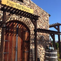 Photo taken at Page Mill Winery by William d. on 9/27/2013
