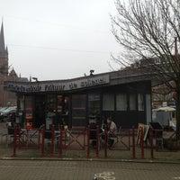 Photo taken at Spiegelplein / Place du Miroir by Jean-christophe C. on 3/9/2013