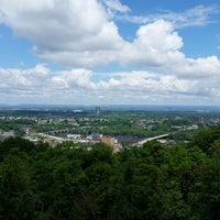 Photo taken at Lehigh University Lookout by Manfred S. on 6/5/2014