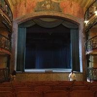 Photo taken at Casa da Ópera (Teatro Municipal) by Fernanda V. on 4/3/2013