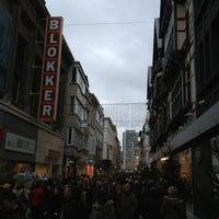 Photo taken at Kapellestraat by Eva M. on 12/30/2012