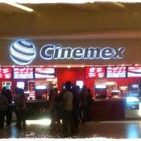 Photo taken at Cinemex by Sandra I. on 8/10/2013