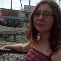 Photo taken at Backlot Stunt Coaster by Rachel V. on 9/1/2013