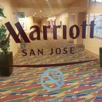 Photo taken at San Jose Marriott by Benjamin H. on 11/30/2012