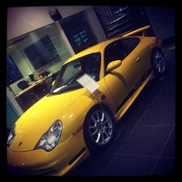 Photo taken at Reeves Porsche by Zaqueray B. on 4/1/2014