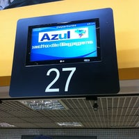 Photo taken at Check-in Azul by Rafael O. on 4/6/2013