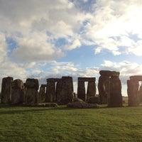 Photo taken at Stonehenge by Alberto G. on 12/1/2012