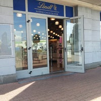 Photo taken at Lindt by Dario S. on 4/1/2014