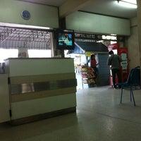 Photo taken at ท่ารถ บริษัท ศรีราชาทัวร์ จำกัด หนองมน by Pathompong M. on 9/29/2012