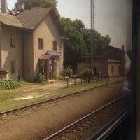 Photo taken at Železniční stanice Kropáčova Vrutice by StaraMatka on 7/19/2015