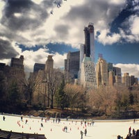 Photo taken at Wollman Rink by Alap S. on 3/24/2013