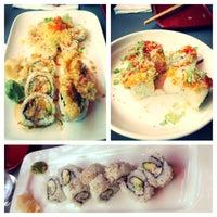 Photo taken at Sushi Toni by Maggie on 6/22/2013