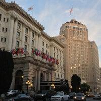 Photo taken at The Fairmont San Francisco by Gemma K. on 6/2/2013