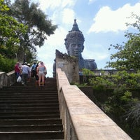Photo taken at Garuda Wisnu Kencana (GWK) Cultural Park by Devian R. on 12/30/2012