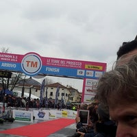 Photo taken at Piazzale Burchiellati by Sabrina M. on 3/2/2014