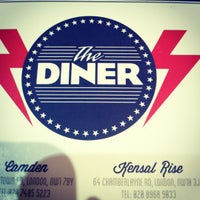 Photo taken at The Diner by Mags S. on 1/5/2013