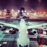 Photo taken at Frankfurt Airport (FRA) by Jared Z. on 11/21/2013