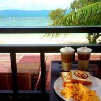 Photo taken at Sarikantang Resort & Spa, Koh Phangan by Sabine B. on 5/22/2013