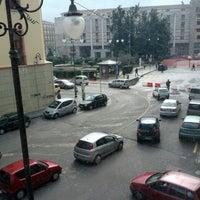 Photo taken at Piazza Libertà by Lilli on 2/25/2013
