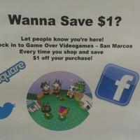 Photo taken at Game Over Videogames by Elisabeth Anne R. on 10/19/2012