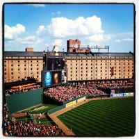 Photo taken at Oriole Park at Camden Yards by Patrick D. on 10/2/2012