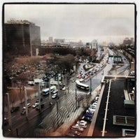 Photo taken at Place Bonaventure by Matthieu A. on 3/12/2013