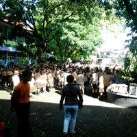Photo taken at SMP Pangudi Luhur 1 Yogyakarta by Francisca O. on 4/28/2013