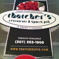 Photo taken at Thatcher's Restaurant by Branica on 2/27/2013