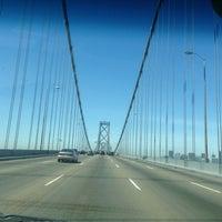 Photo taken at San Francisco-Oakland Bay Bridge by Danielle R. on 5/11/2013