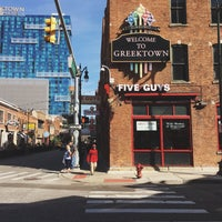 Photo taken at Greektown Historic District by Marie-Claire B. on 10/19/2016