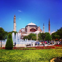 Photo taken at Sultanahmet Square by Kevin C. on 7/2/2013