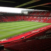 Photo taken at Old Trafford by Theta S. on 8/22/2013