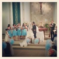 Photo taken at St. Justin Martyr Church by Elizabeth G. on 10/20/2012