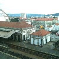 Photo taken at Estação Ferroviária de Viana do Castelo by António A. on 3/15/2013