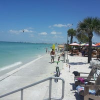 Photo taken at Pass-a-Grille Beach by Chris T. on 4/28/2013