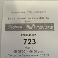 Photo taken at Movistar Palmas by Caris on 5/5/2014