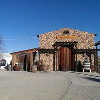 Photo taken at Page Mill Winery by Justin B. on 1/18/2014