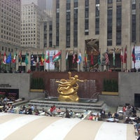 Photo taken at Rockefeller Center by Justin B. on 5/11/2013