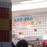Photo taken at Art-Pão Confeitaria by Michael F. on 3/2/2013