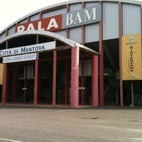 Photo taken at PalaBAM by Latina Basket on 4/21/2013