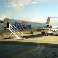 Photo taken at Bellingham International Airport (BLI) by Adam S. on 7/19/2013