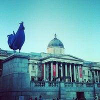 Photo taken at Trafalgar Square by Joe P. on 7/25/2013