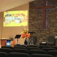 Photo taken at Crossroads Community Church by Jennifer W. on 11/1/2015