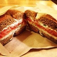 Photo taken at Brooklyn Bagel & Coffee Co. by Teresa H. on 6/19/2013