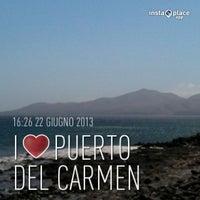 Photo taken at Avda De Las Playas by Pier Paolo Z. on 6/22/2013