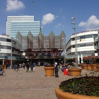Photo taken at Station Almere Centrum by Tugba A. on 4/24/2013