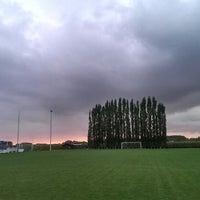 Photo taken at FC Moortsele by Ulrik ✈. on 10/4/2013