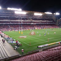 Photo taken at Newlands Rugby Stadium by Bassel K. on 6/29/2013